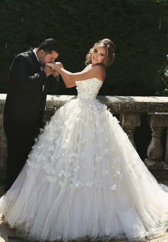 Walid shehab wedding dresses 2018 pictures