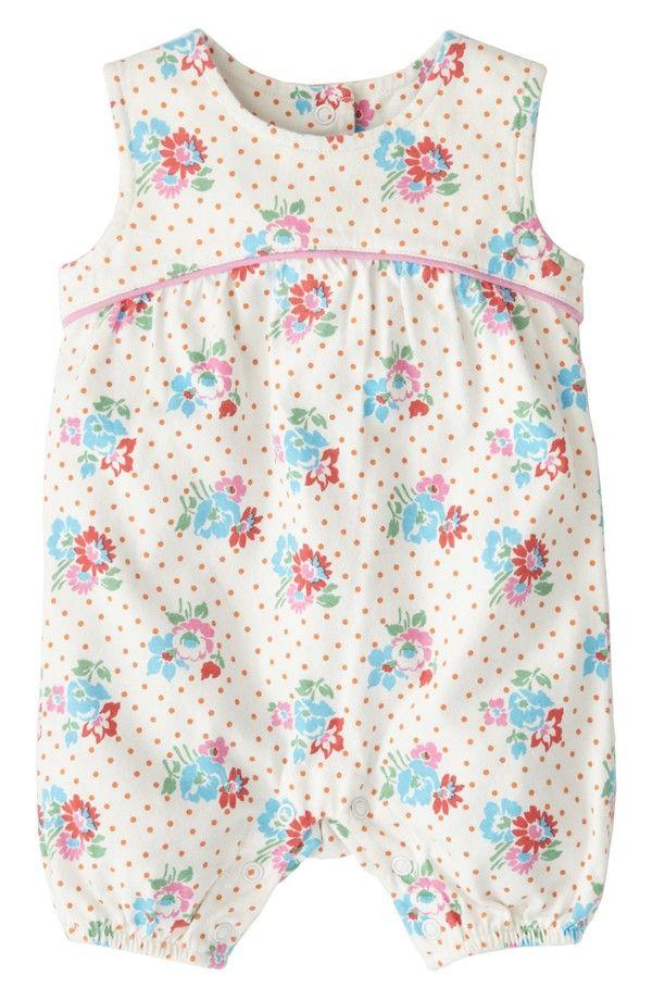 d182016935e1 Mini Boden  Pretty Jersey  Bubble Romper (Baby Girls)