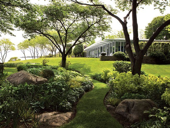 Tom Armstrong S Fishers Island Home Fisher Island Garden