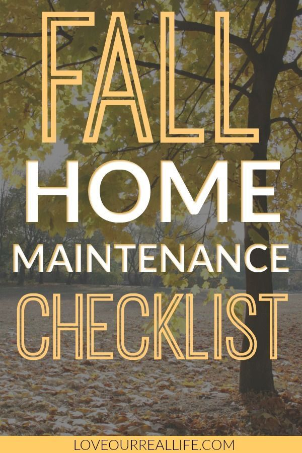 Photo of Checkliste für die Wartung des Herbsthauses: Sind Sie bereit? ⋆ Liebe unser wirkliches Leben