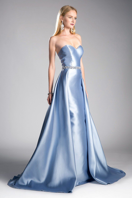 Cinderella Divine 455 Beaded Belt Strapless Silk Gown With Overskirt In 2021 Sweetheart Neckline Prom Dresses Ball Dresses Silk Prom Dress [ 1500 x 1000 Pixel ]
