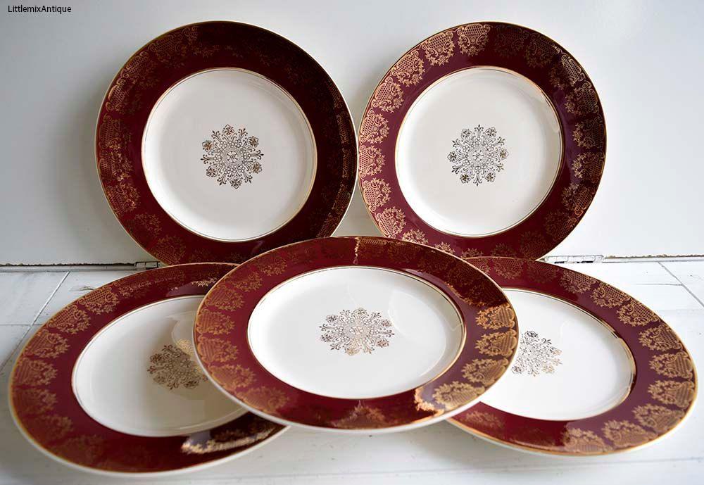 Reserved To Monica Midwinter Stylecraft Staffordshire England Classic Dated5 60 Dinner Plates Retro English Festive Christmas Dinnerware Christmas Dinnerware Dinner Plates Dinnerware