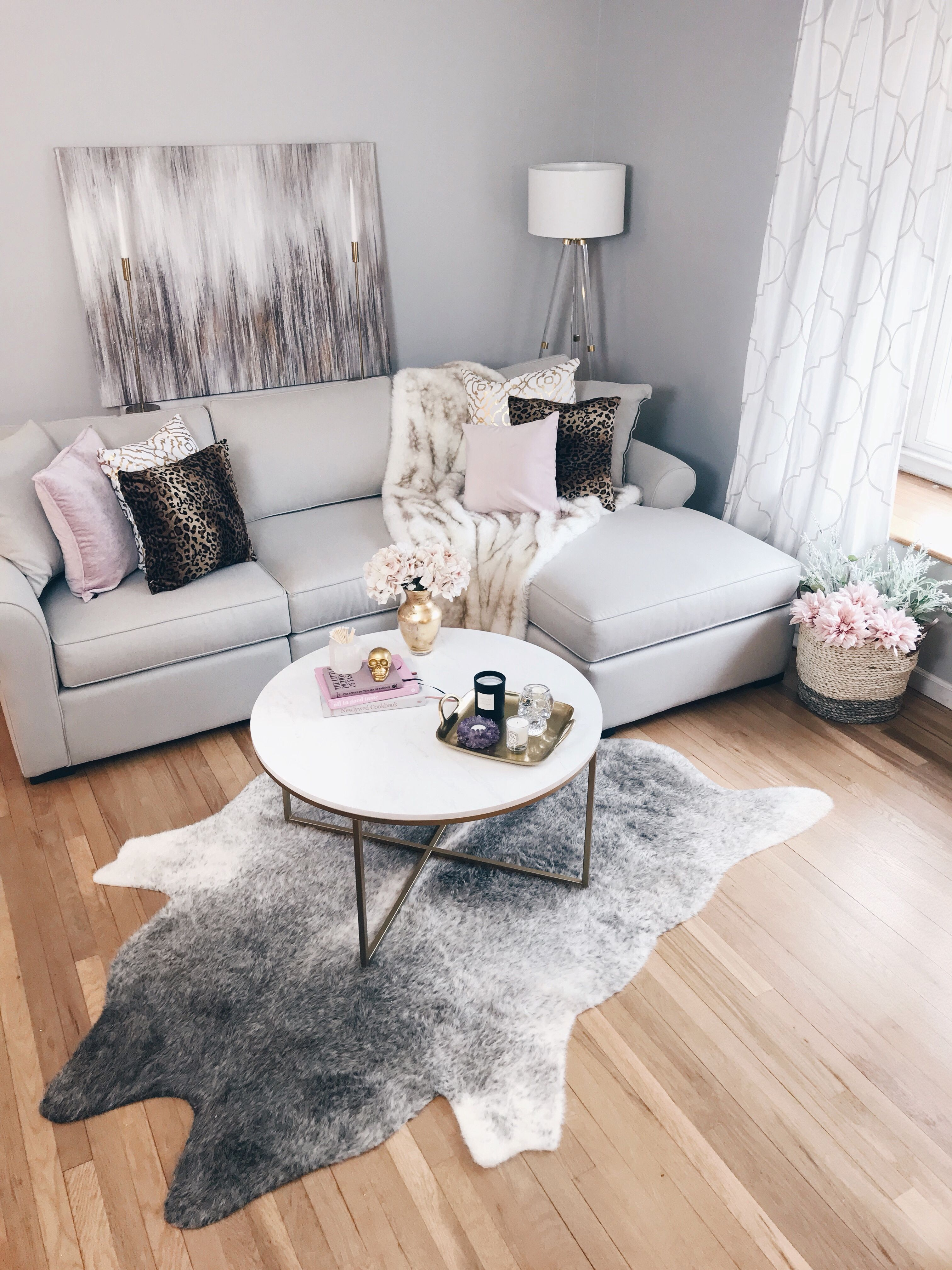Bringing A Modern Glam Living Room Vision To Life Modern Glam