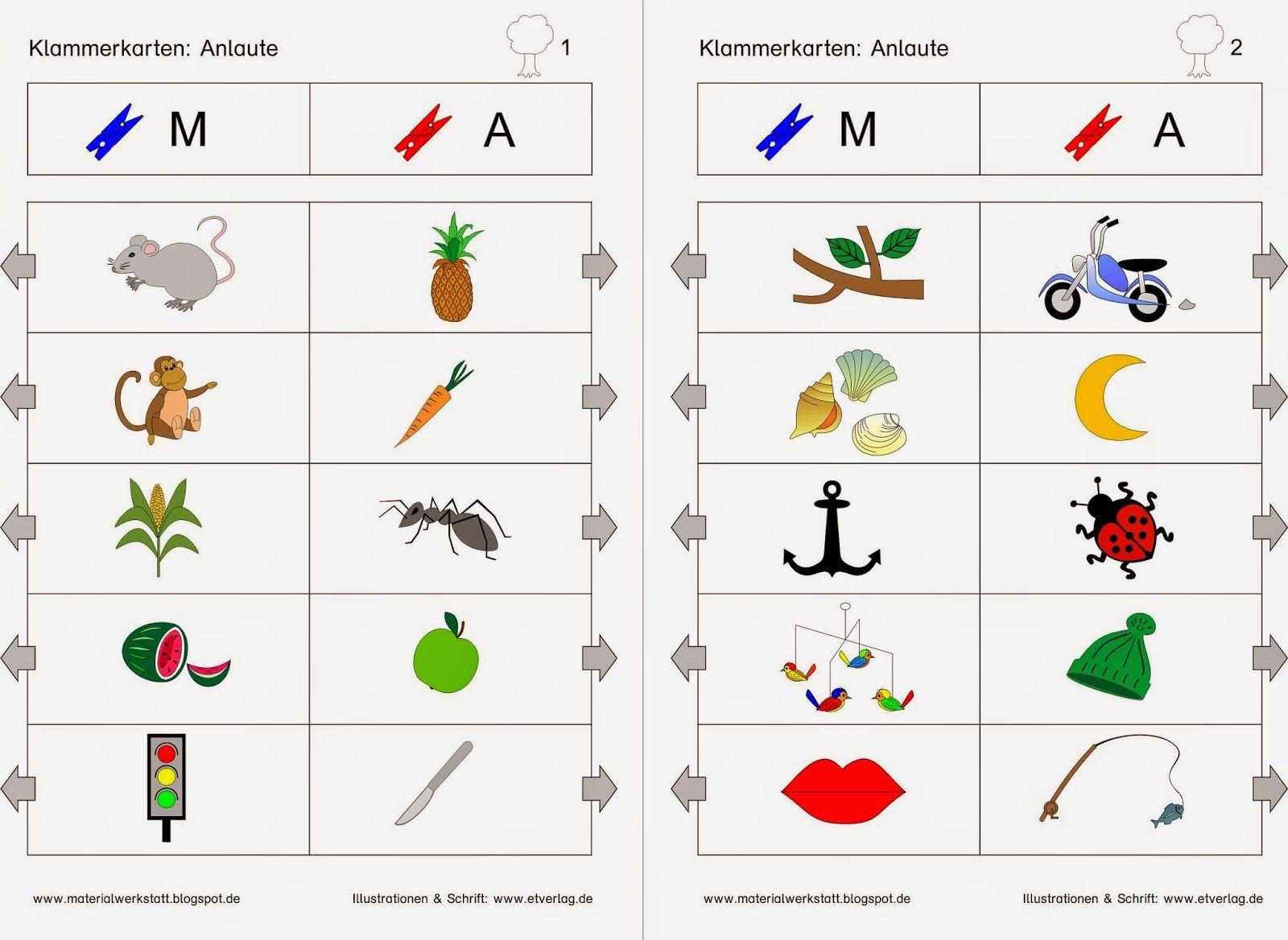 Materialwerkstatt: Deutsch-Materialien | D Buchstabenerarbeitung ...