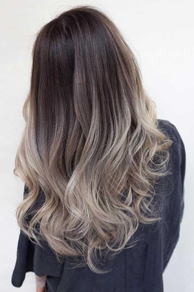 45 Vorschläge für dunkelbraune Haarfarbe | LoveHairStyles   – Totally hair
