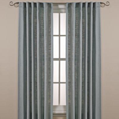 Cambria Malta 120 Inch Rod Pocket Back Tab Window Curtain Panel