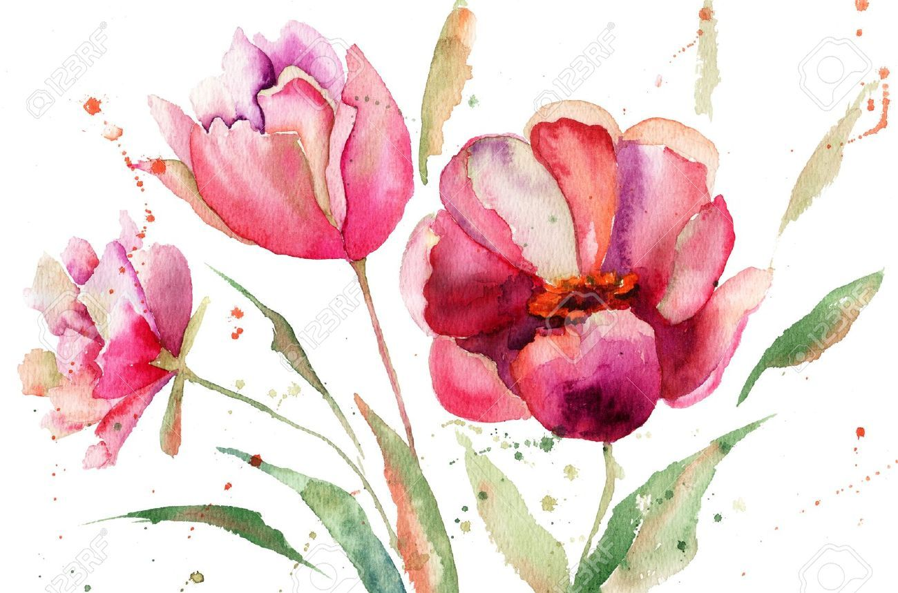 Watercolour flower google art watercolour for Watercolor art prints for sale