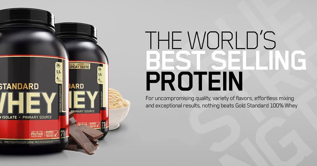 Optimumnutrition The Only Gold Standard 100 Whey Available In 2lbs 5lbs 10lbs Authenticity Guaranteed Optimum Nutrition 100 Whey Supplement Container