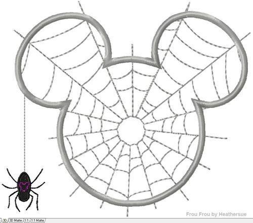 Disney Template Mickey Mouse Head Halloween ♡ Disney DIY - halloween template