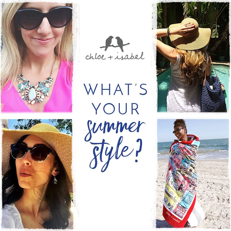 No matter how you style it, Summer Solstice is the perfect time to rock a hot look! Today - July 4th, receive 20-30% off all stock by using discount code SUMMER at checkout at http://www.chloeandisabel.com/boutique/annmiller/edaff6!