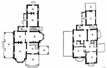 House With English Gothic Architecture Vintage House Plans Gothic Revival Architecture Gothic House