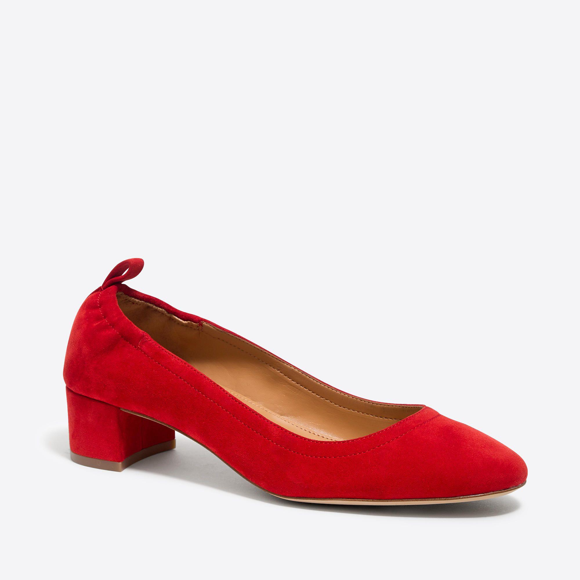 acfaa4d60d3 Anya suede block heels   FactoryWomen Occasion