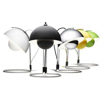 FlowerPot bordslampa VP4 - matt svart -