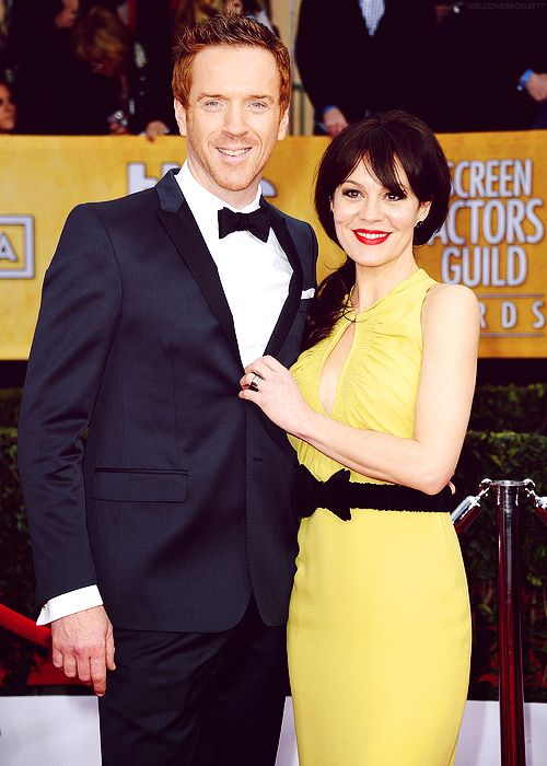 Helen McCrory and Damian Lewis | Screen actors guild award ...