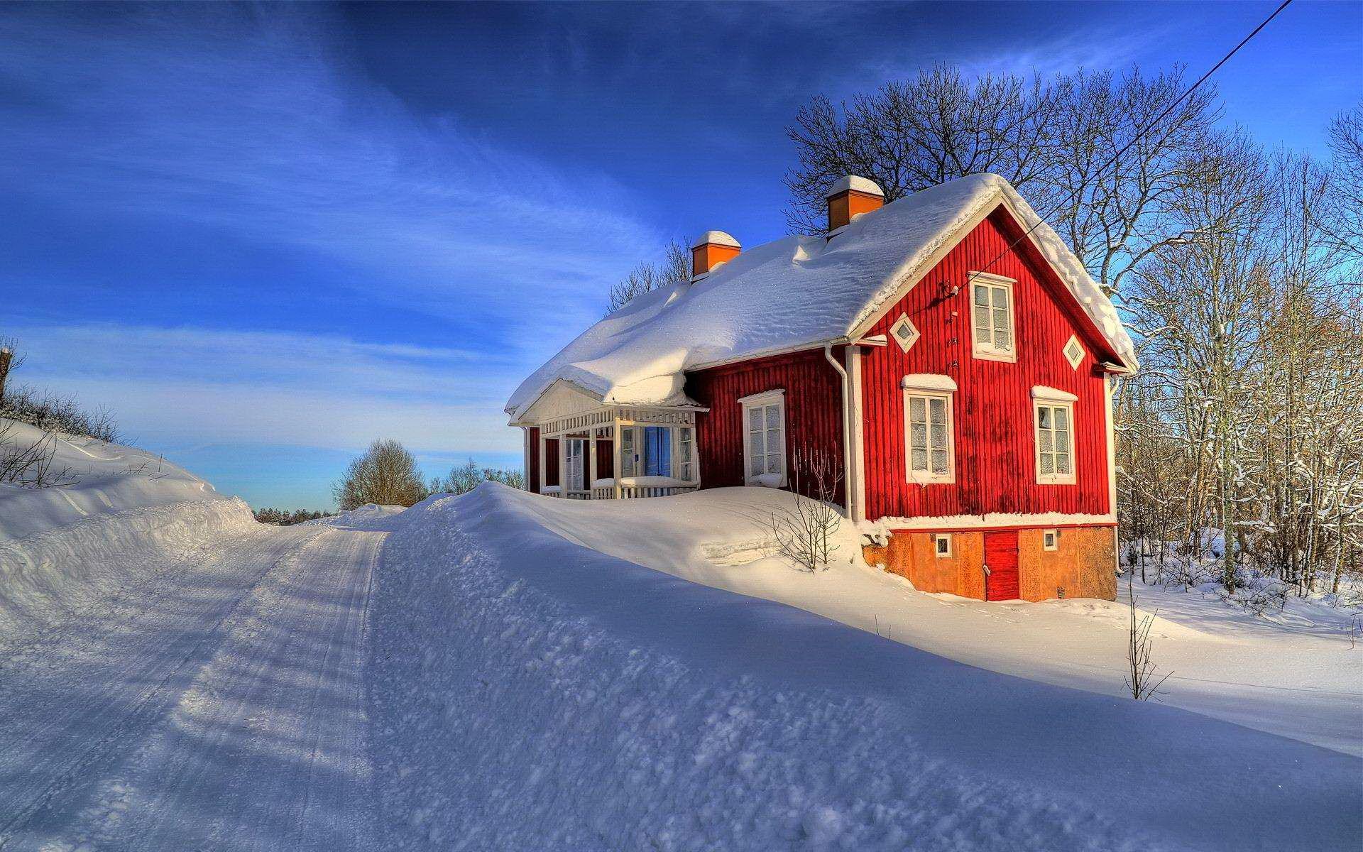 Swedish Women In Snow