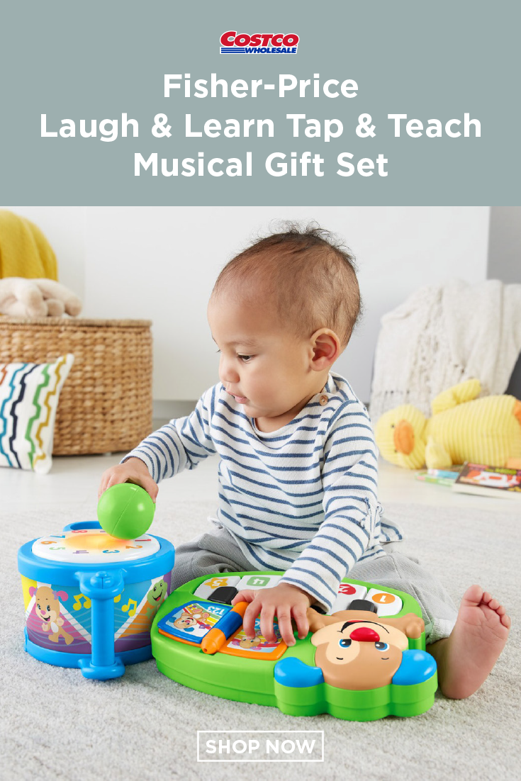 Fisher Price Laugh Learn Tap Teach Musical Gift Set Baby Crib Mattress Baby Cribs Musical Gift