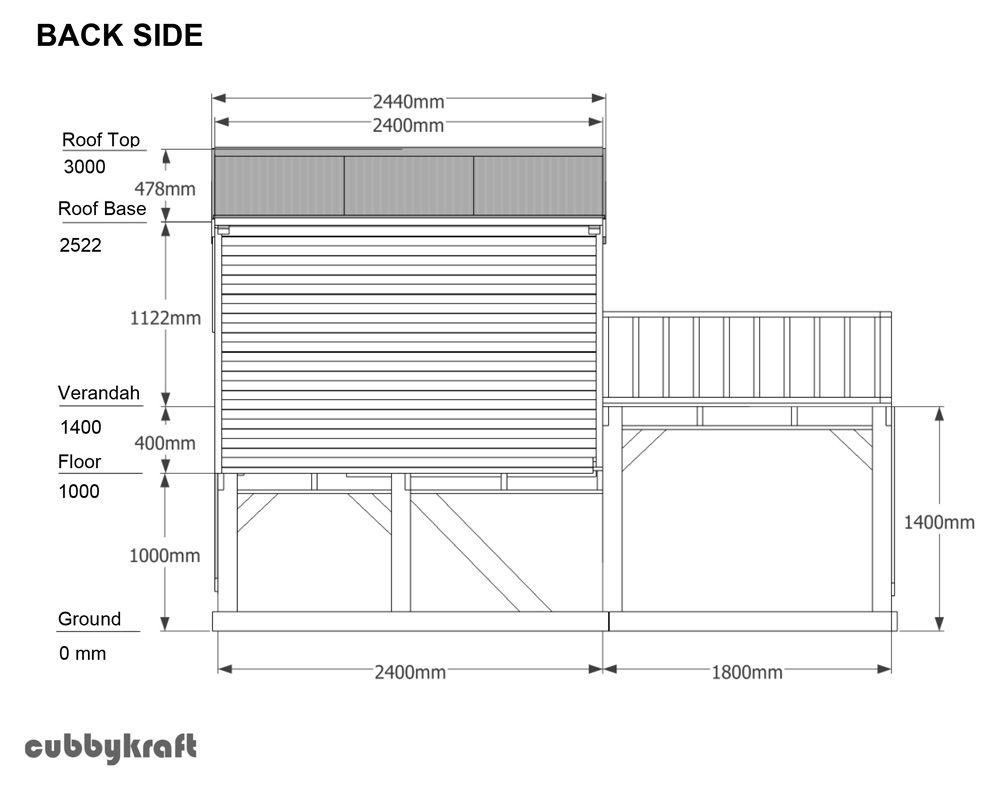 Playhouse woodcabin1 Pinterest Nápady - plan maisonnette en bois