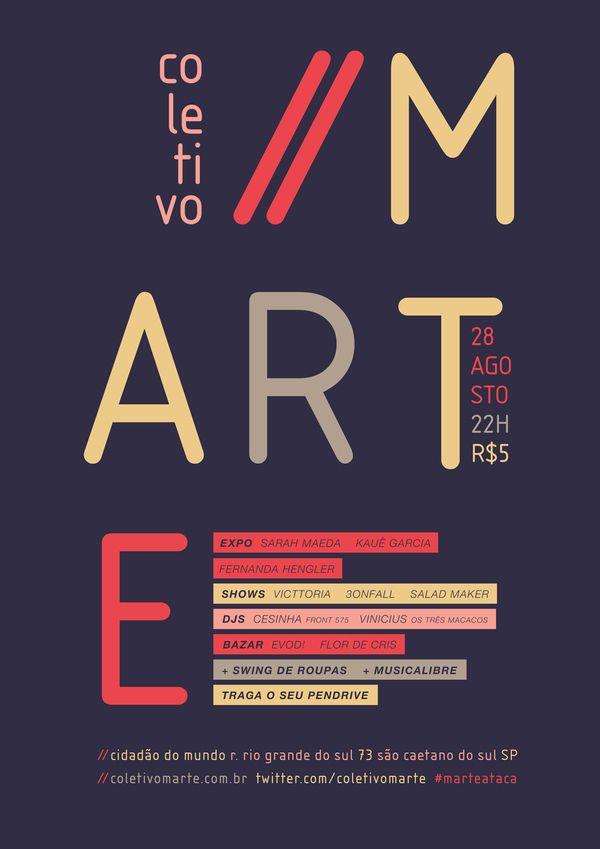 CARTAZES | COLETIVOMARTE - eduardoRibeiro - diretor de arte | art director