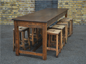 Reclaimed Vintage Laboratory Table Great Size For A Dining