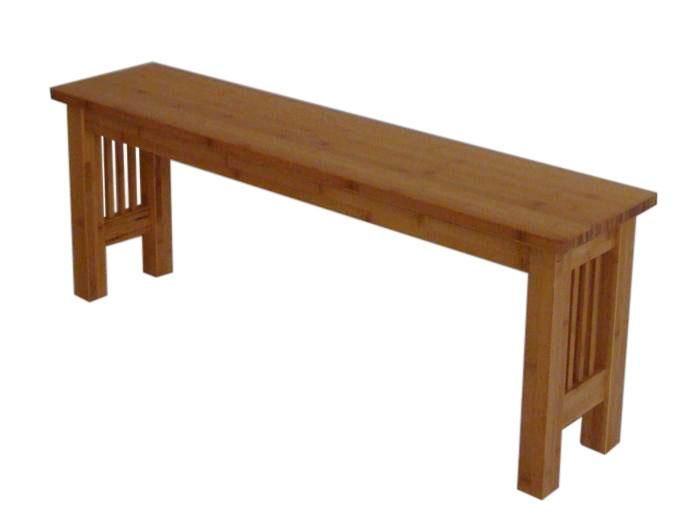 Mission Style Bench