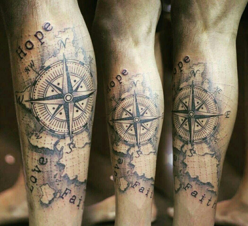Tatuaggio polpaccio