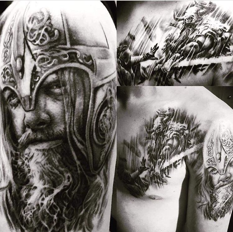 Tattoo Designs Vignesh: Pin Von Zach Greenwell Auf Viking Tattoos