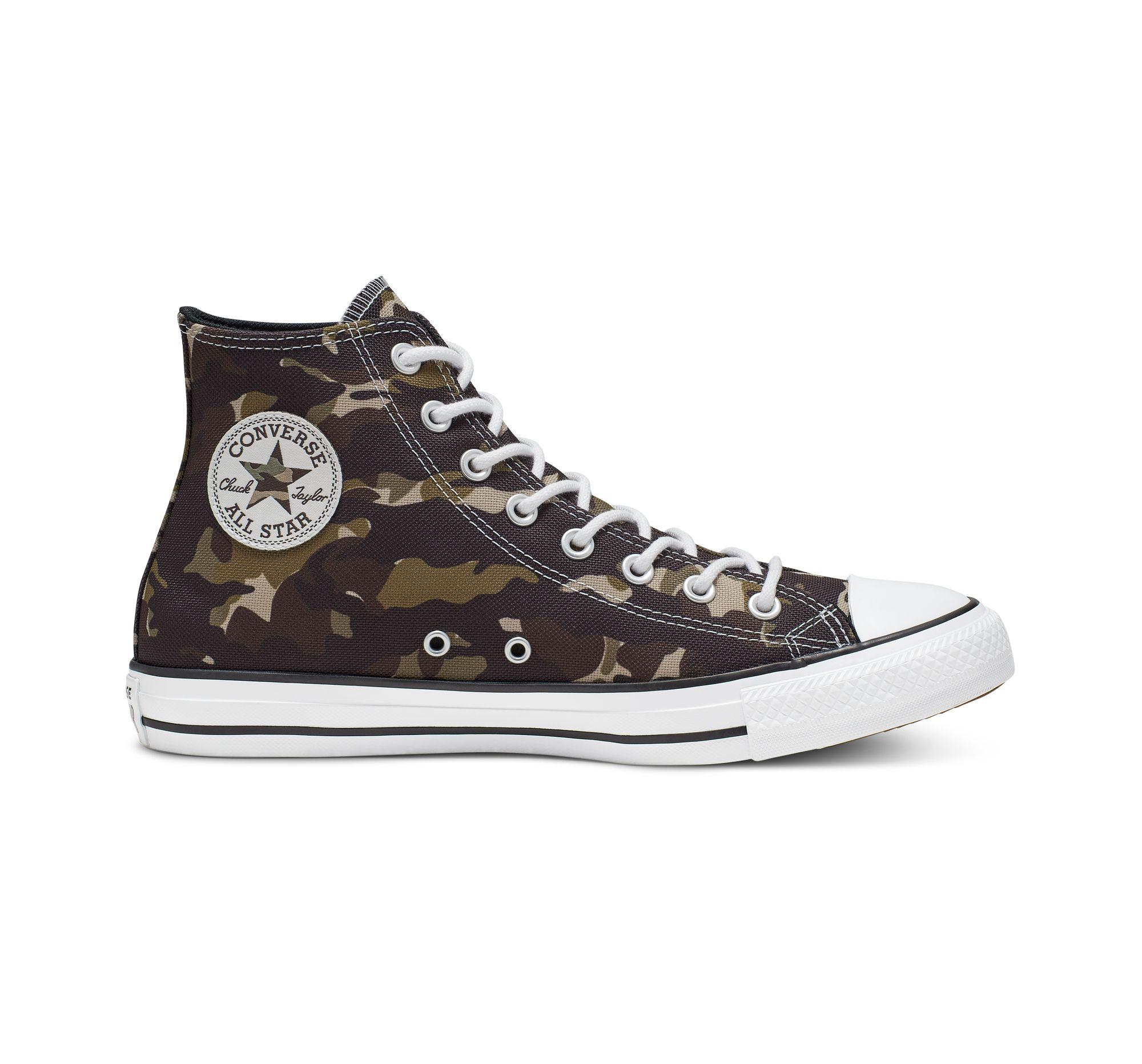 Converse Men´s Chuck Taylor All Star Camo High Top Sneakers
