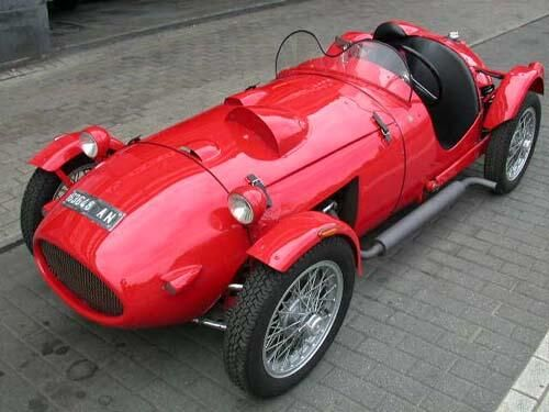 Moretti Barchetta 750 (1954)