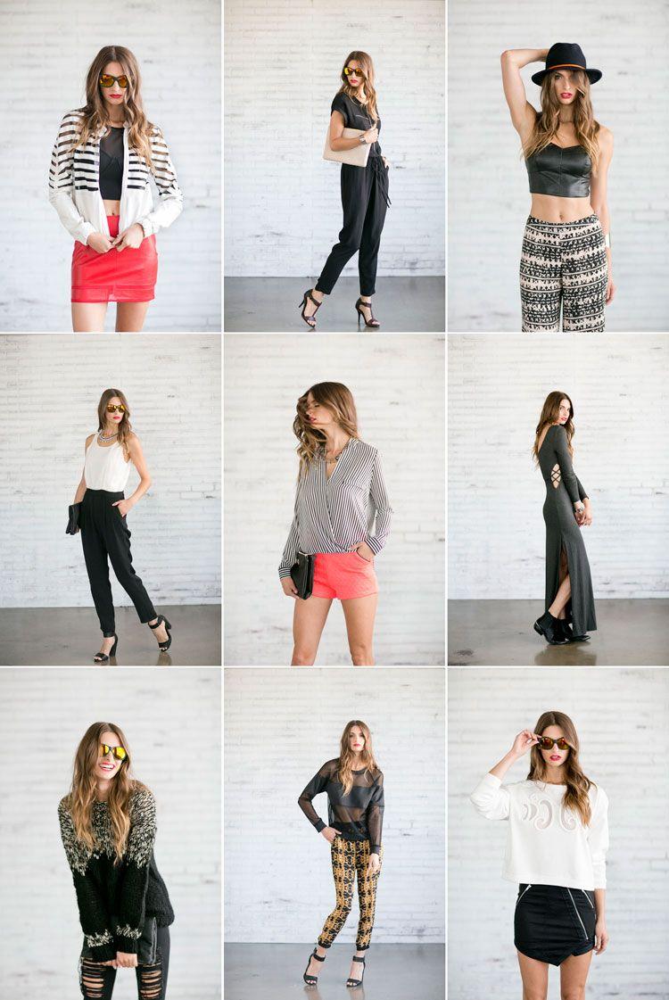 Clothing Lookbook October 2017