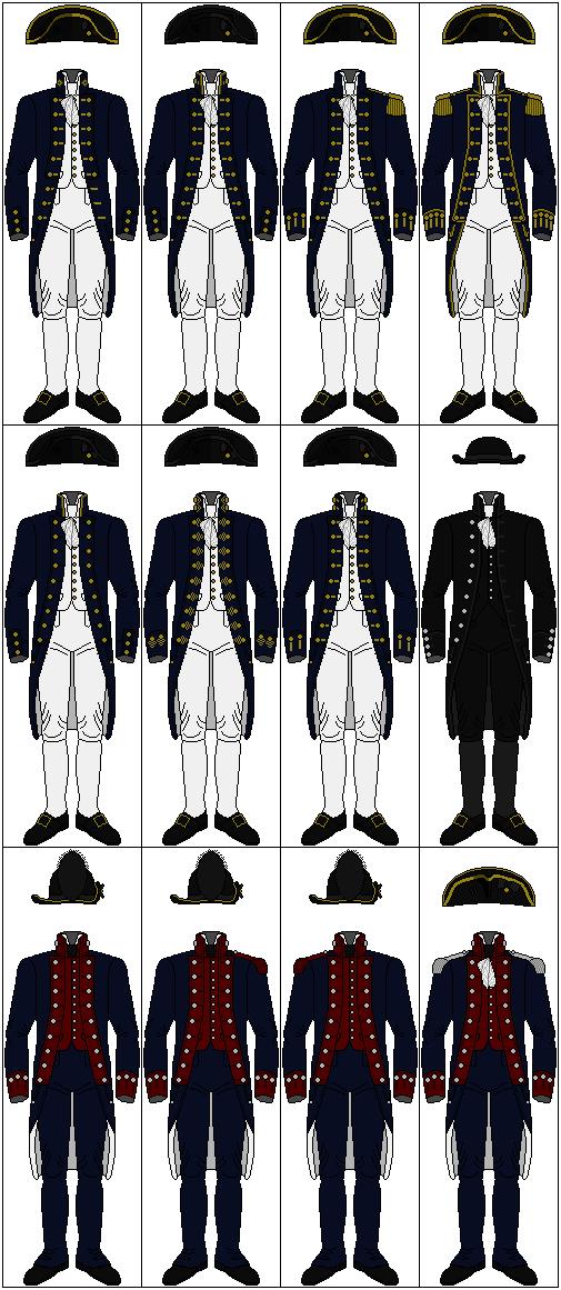 Uniforms of the United States Navy, 1800-1808 by CdreJohnPaulJones ...