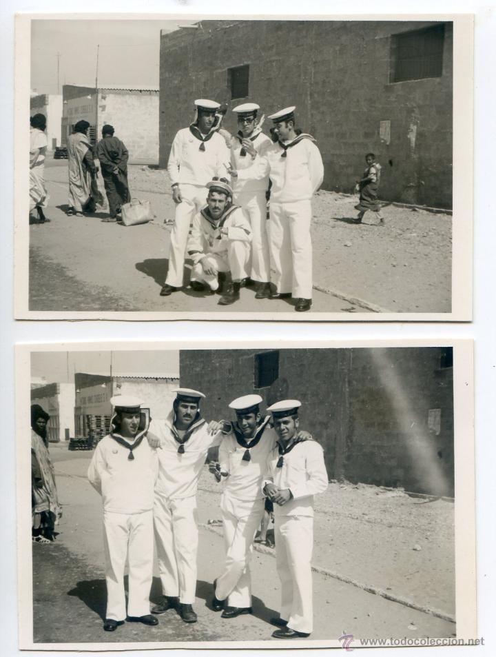 Sahara Español álbum Con 31 Fotos Mili De Un Soldado Compañía De Mar Del Sahara En El Lepanto Español Fotografía Antigua Fotos