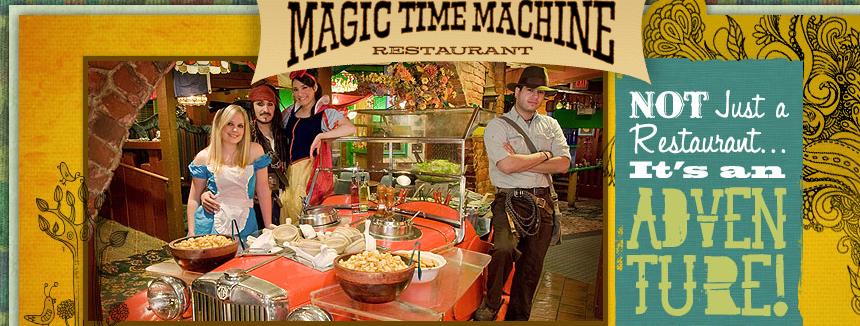 Magic Time Machine San Antonio Tx Best Kids Restaurants Cooking Family