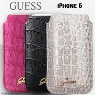 Housse iPhone 6 Guess croco sur http://www.etui-iphone.com
