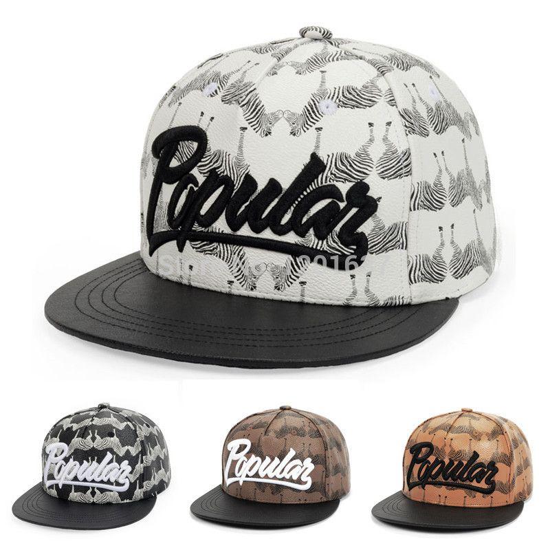 dd01d4831db37 Find More Baseball Caps Information about Fashion Zebra Print Baseball Caps  Popular Hip Hop Cap Top