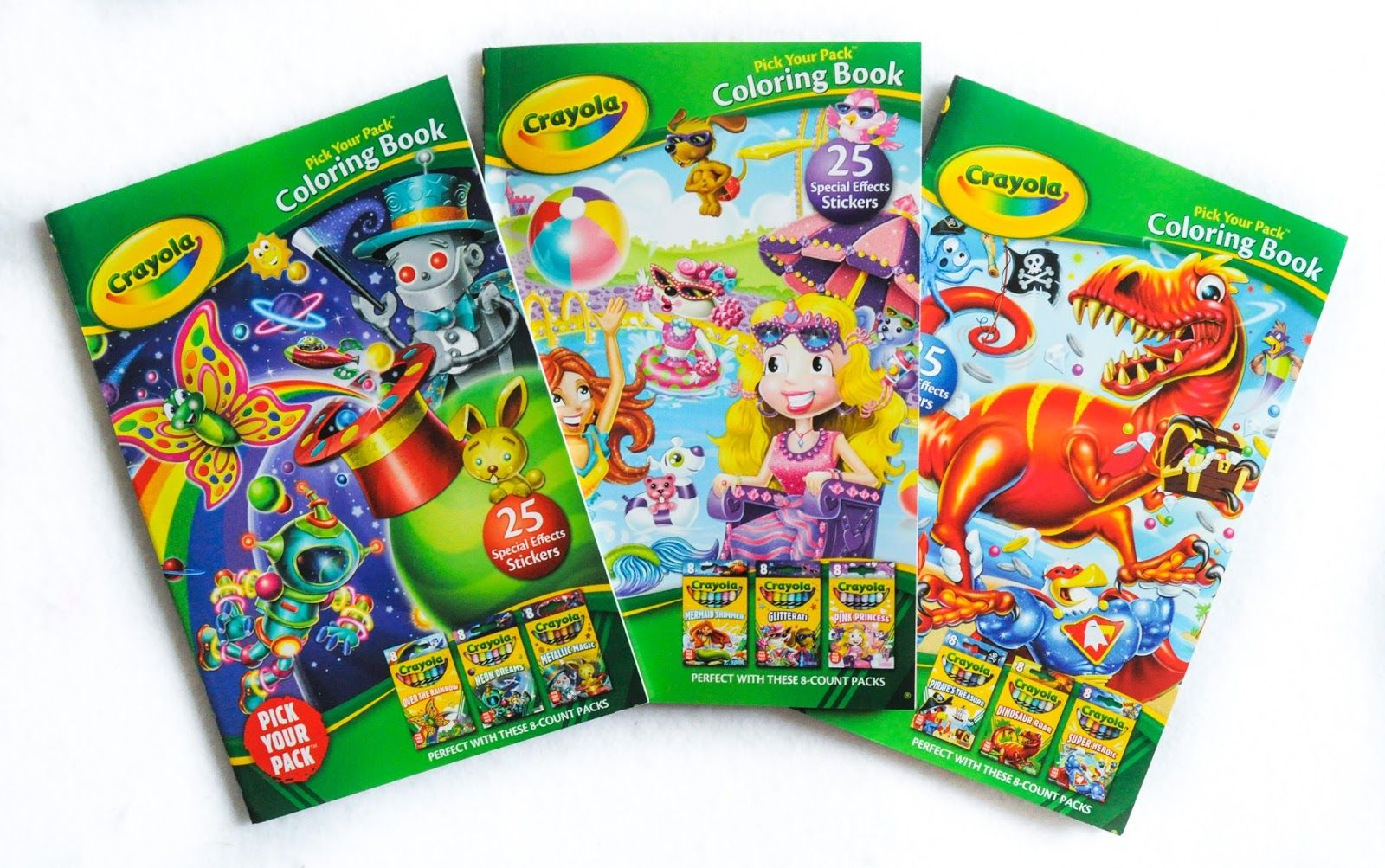 Crayola Pick Your Pack Coloring Books Coloring Books, Geometric