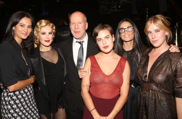 Bruce Willis est un homme à femmes, enfin, à filles: il en ...