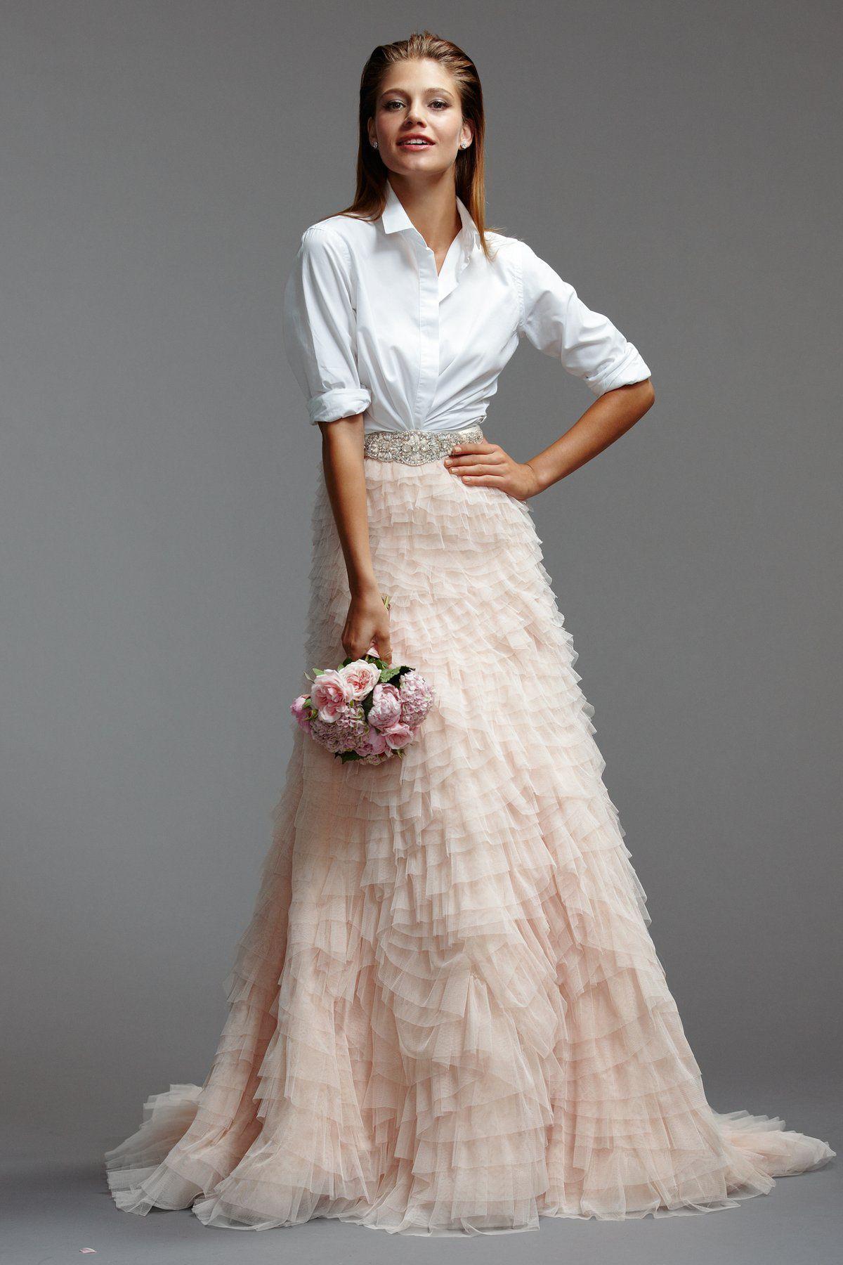Milada skirt b brides watters bride to be pinterest