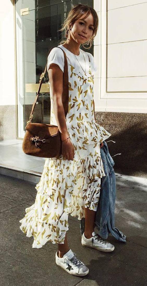 Stylish Look Tendencia Verano 2018 Moda Verano Moda Estilo