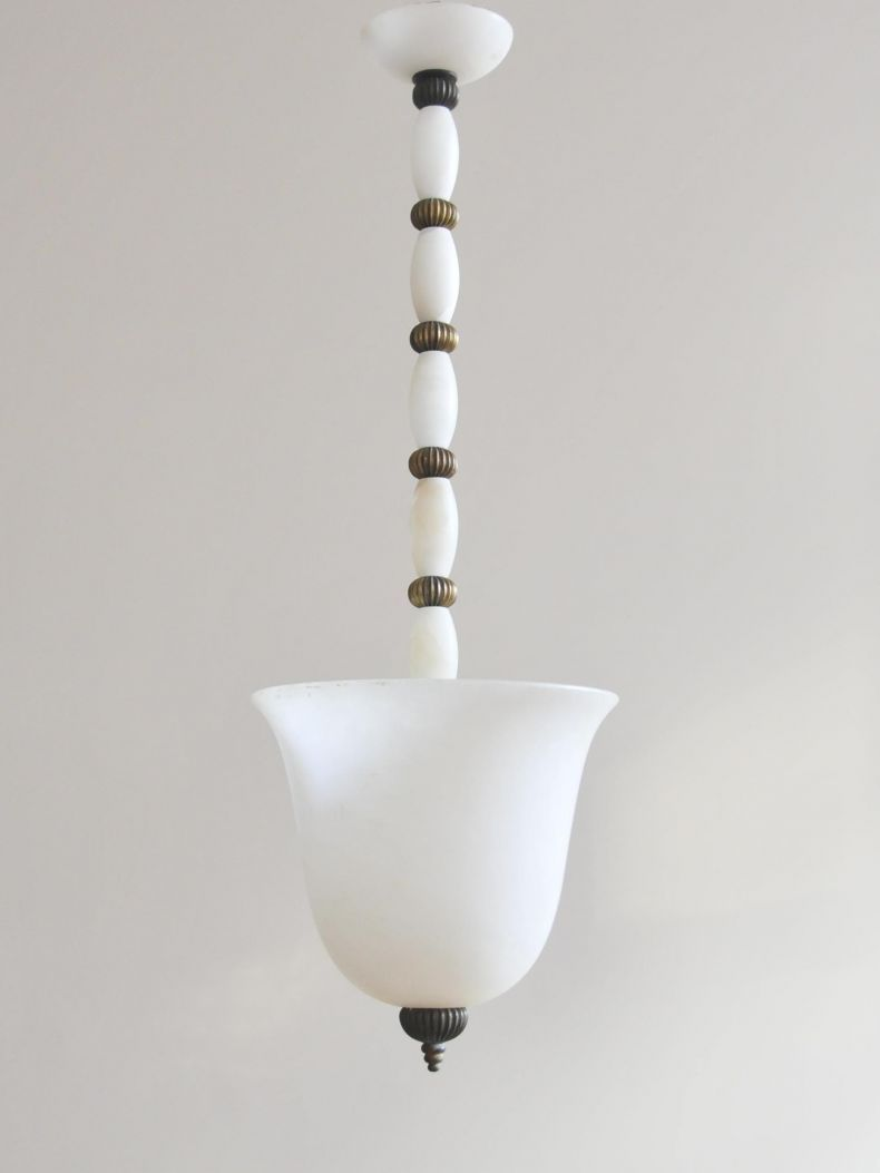 1940 S Voltera Alabaster Pendant Light Pendant Light Light