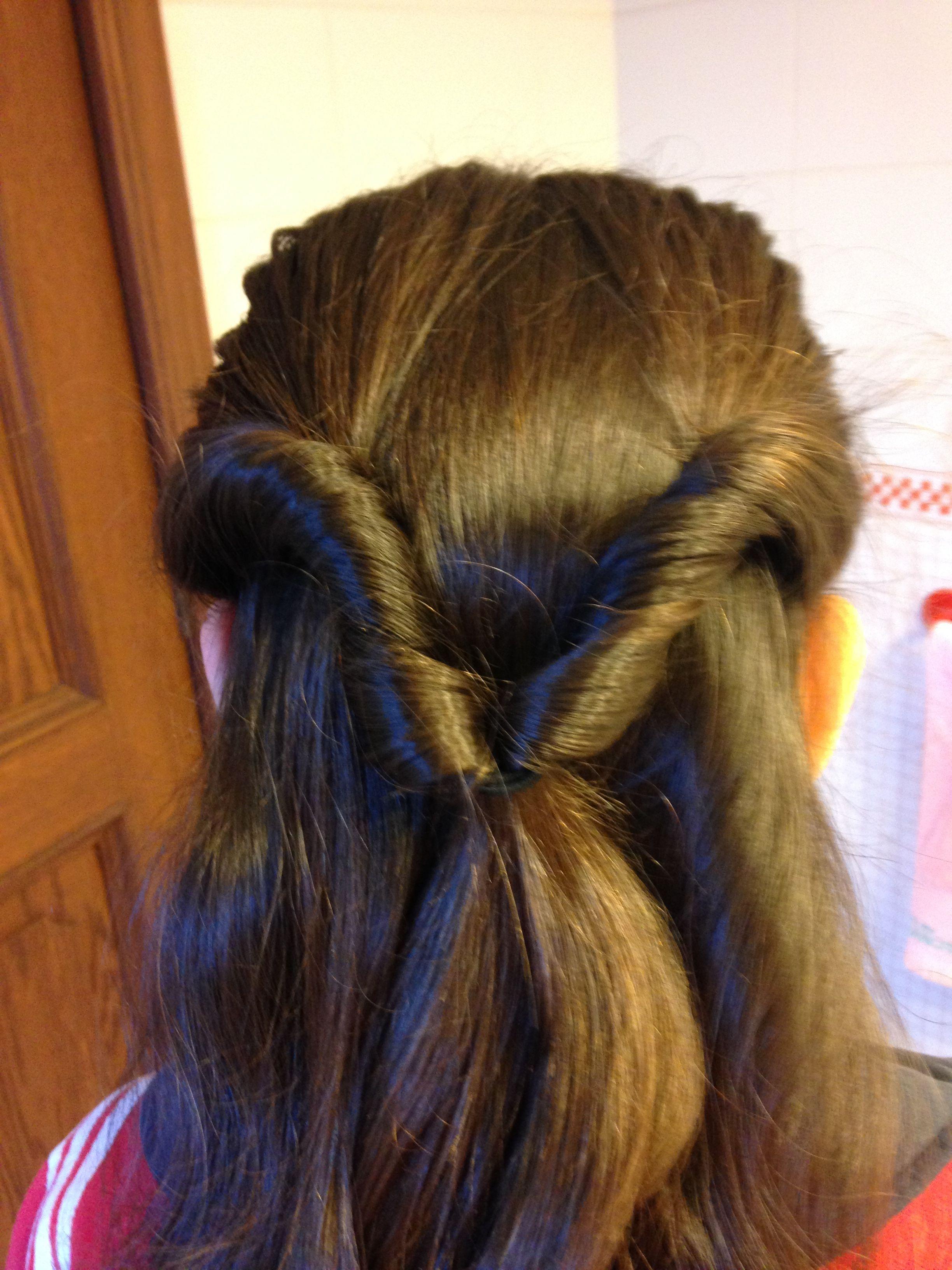 Peinado para la escuela o el hogar. 🤔😍😏👙🤘🏻🎶💇🏻