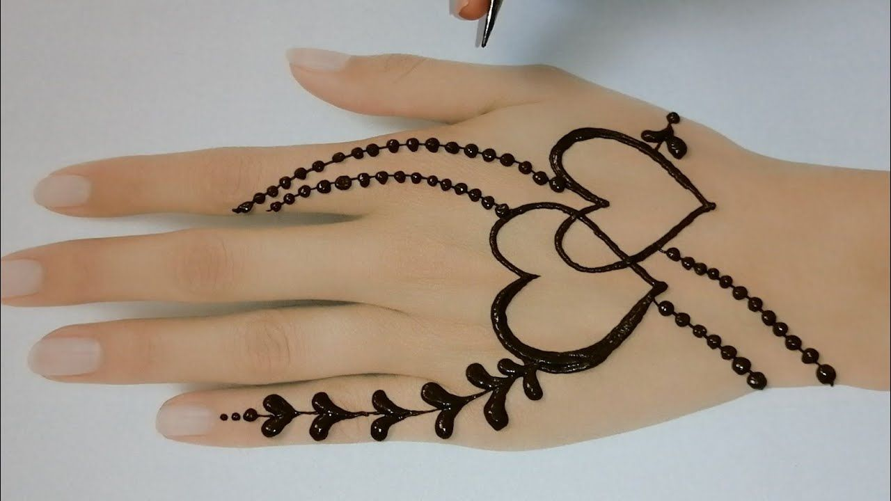 Amazing Heart Shape Jewellery Mehndi Design Ll Mehndi Design For Back Hand Ll Mehndi Designs In 2020 Mehndi Designs For Hands Back Hand Mehndi Designs Mehndi Designs