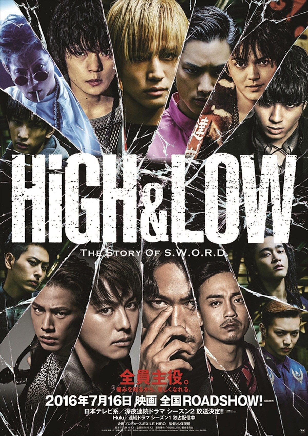Download High And Low Season 2 Sub Indo Batch : download, season, batch, Story, Season, Japanese, Series, ハイアンド, Cute766