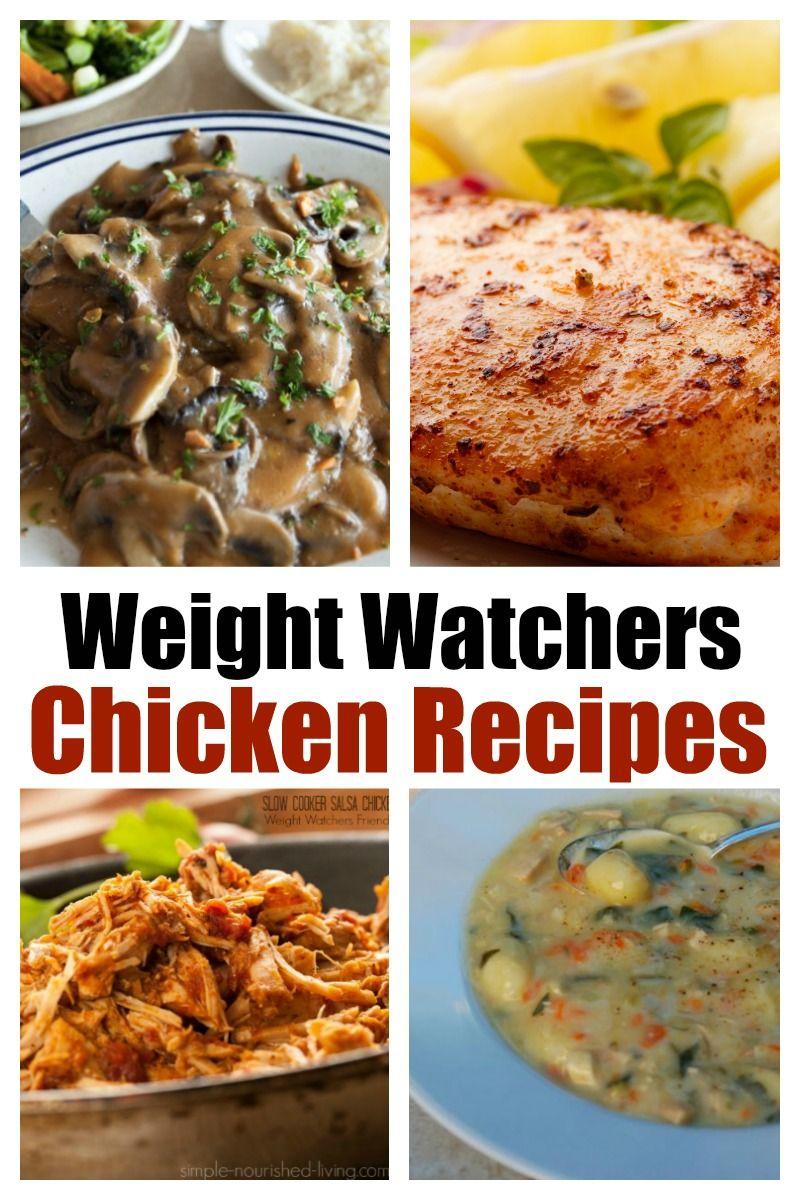 Pin On Ww Chicken Recipes