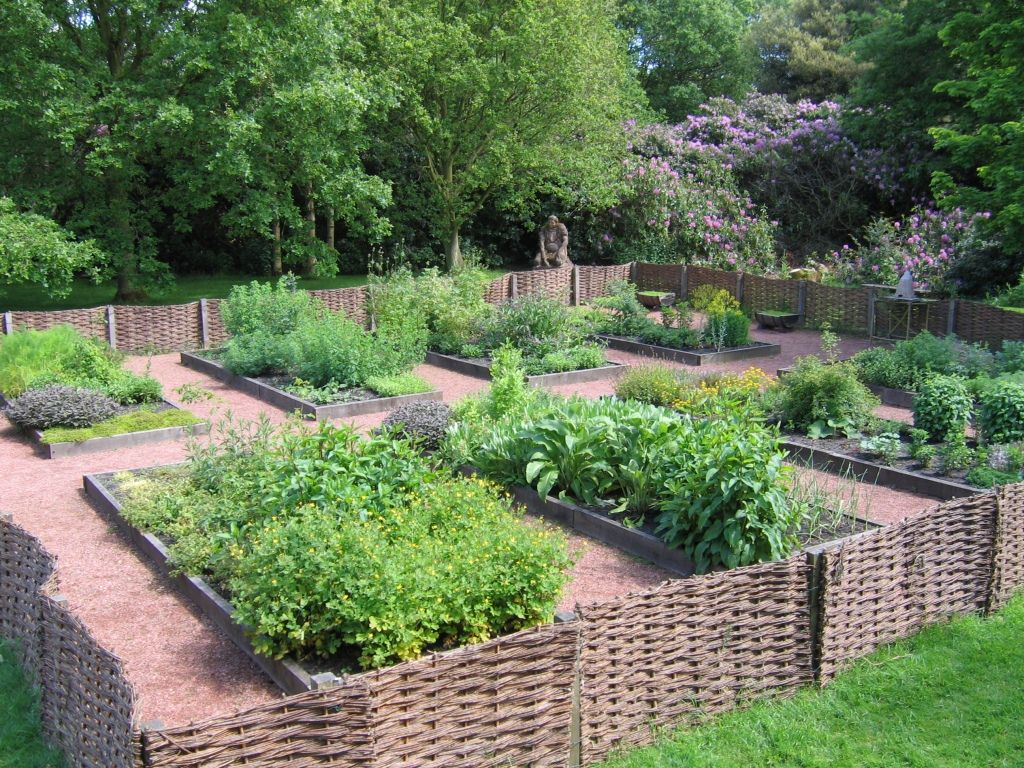 как отделить огород от зоны отдыха фото случаю такой красивой