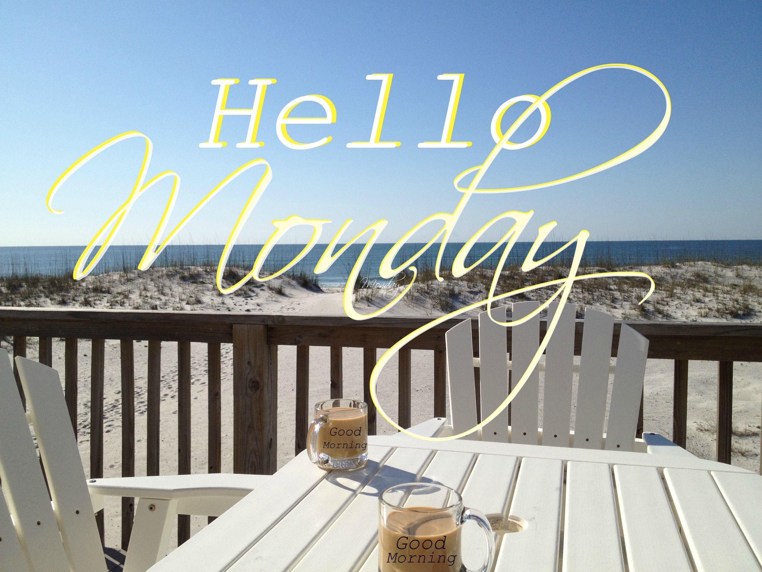 Happy Monday Coastal Lovers Beach Quotes Monday Coffee Monday Quotes
