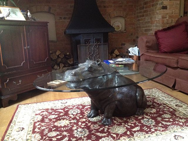 Hippo Table 25 contemporary furniture - inspired in fauna & flora | flora, in