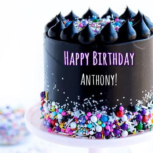 Gorgeous Delicious Chocolate Layer Cake With Your Name