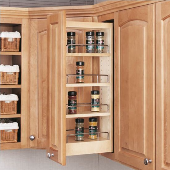 rev shelf kitchen upper cabinet pull out organizer available with ...