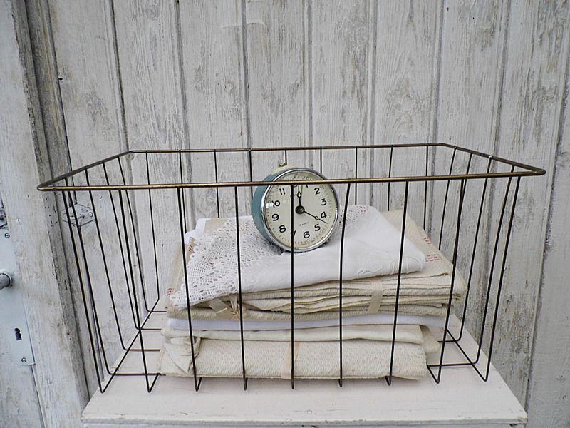 #Vintage #Drahtkorb für`s Loft ♥ #industrial ♥ von Gerne Wieder.GbR auf DaWanda.com