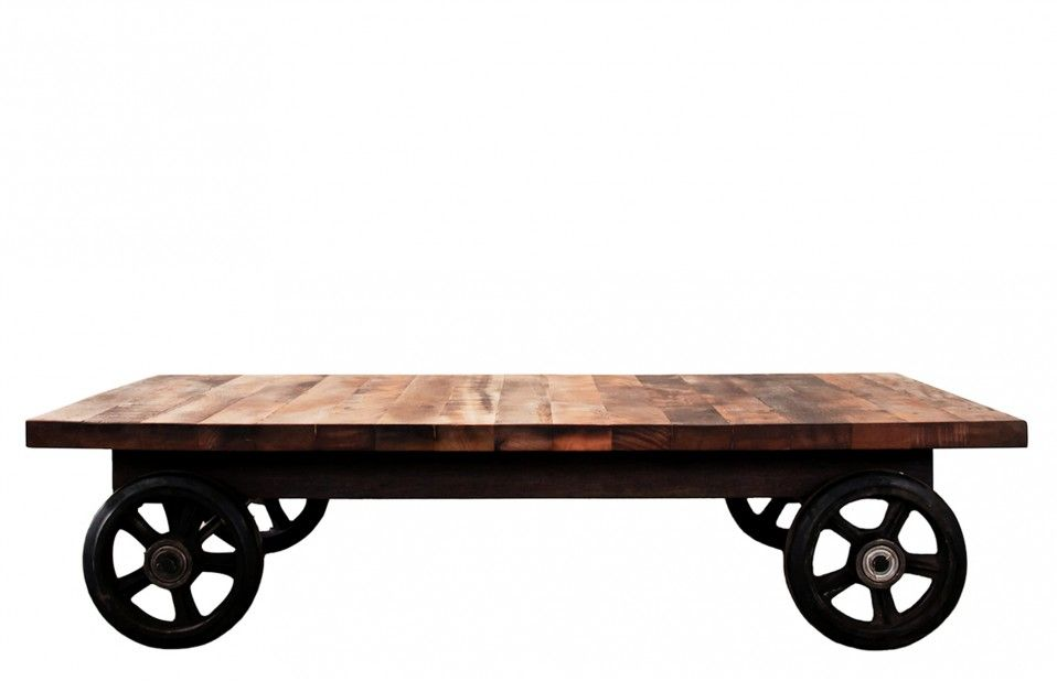 Jodhpurtrends District Eight Coffee Table In Reclaimed Wood